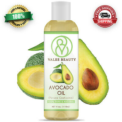 Avocado Oil 100% Natural Great For Aromatherapy Skin Body & Hair