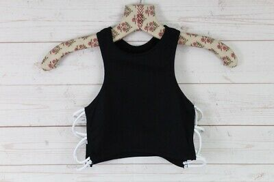 New Free People Seamless Side Cross Racerback Bralette Cami Crop Top Xs-L $28