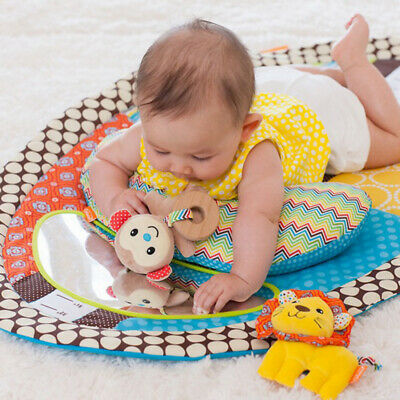 Child Infant Baby Kids Crawling Game Waterproof Floor Play Mat Tummy Time W5J9