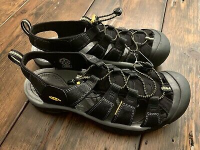 detailed look 241e2 c51ff KEEN NEWPORT H2 Sport Fishing Sandals Men's Grey Blue Size 7 ...