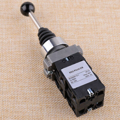 4NO 4 Positions Momentary Spring Return Wobble Stick Switch Joystick XD2PA24CR