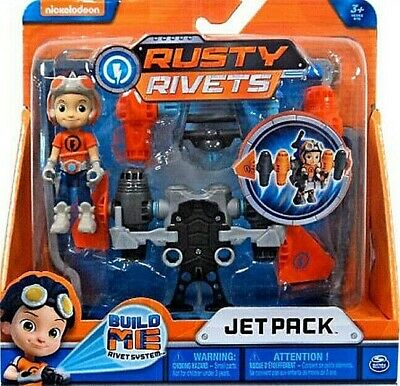 Nickelodeon Rusty Rivets Jet Pack Building Set For Ages 3 And Up Play Toy