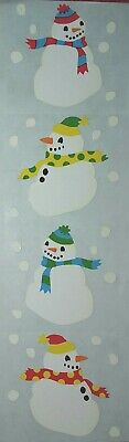 Mrs Grossman/'s SNOWMAN  CHRISTMAS  Stickers Vintage 1990 Very Rare