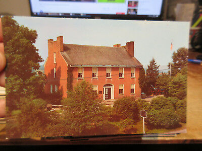 Vintage Old Postcard PENNSYLVANIA Uniontown Fort Ft Nessity Museum Tavern House