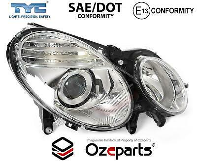 RH Right Hand Head Light Non Xenon For Mercedes Benz E Class W211 Ser2 2006~2009