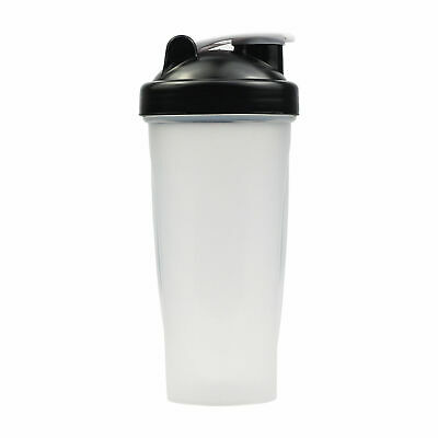 Multi 700ml GYM Protein Supplement Drink Blender Mixer Shaker Shake Ball Bottle