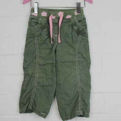 NEXT Girls Khaki Trousers Size 12-18 months