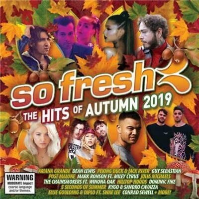 SO FRESH - THE HITS OF AUTUMN 2019 - Various Artists CD *NEW* 2019