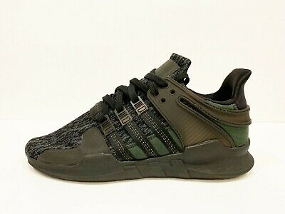 finest selection 986bc 2f5e0 NEW Adidas EQT SUPPORT ADV Black   Green Mens Sneakers Size 8.5 BY9589