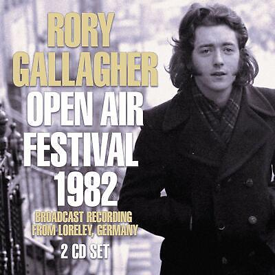 RORY GALLAGHER 'OPEN AIR FESTIVAL 1982' 2 CD Set (3rd May 2019)