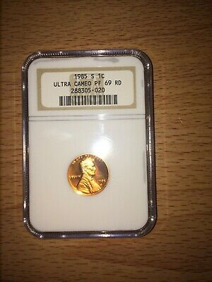 1985 S 1c NGC Lincoln cent PF69UC Proof 69 Ultra Cameo
