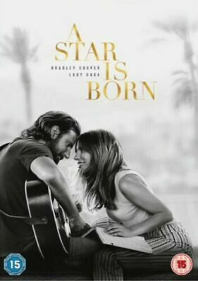 A STAR IS BORN -Bradley Cooper Lady Gaga- DVD region 2 NEW Quick Dispatch