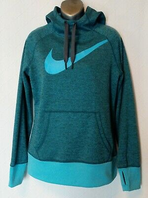 8d17bb46bd70 NIKE WOMEN S THERMA Fit All Time Swoosh Pullover Hoodie Sz M NEW ...
