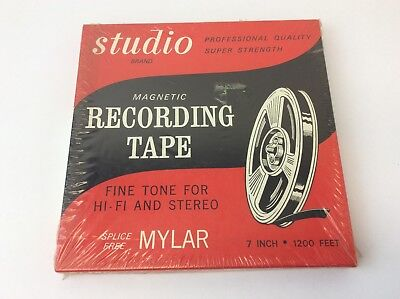 New Studio Brand Professional Quality Super Strength Magnetic Recording Tape