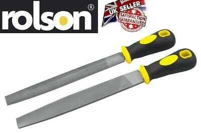 "2pc 150mm File Set Tools Metal Sharpen Sharping Flat and Half Round 6"" - Rrolson"