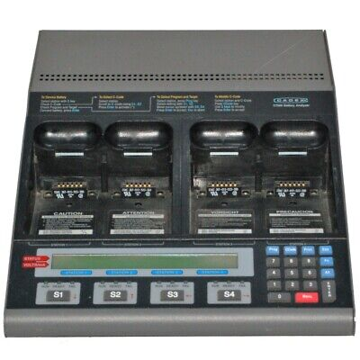 CADEX C7000-1 Battery Analyzer | Stations 1, 3, and 4 are Functional