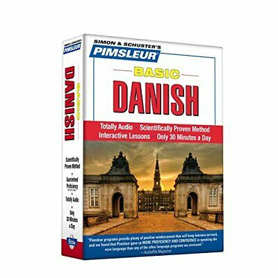Pimsleur Danish Basic Course - Level 1 Lessons 1-10 CD: Learn to Speak and Under