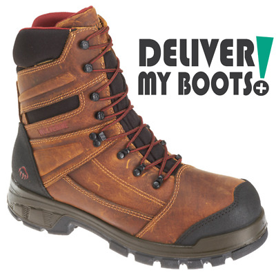 d11cc67f547 NEW MEN'S WOLVERINE W30089 Big Horn 8 inch Waterproof Insulated boot ...