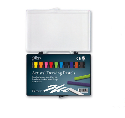 Mungyo Professional Gallery Artists' Drawing Pastel 12color Sketch Design