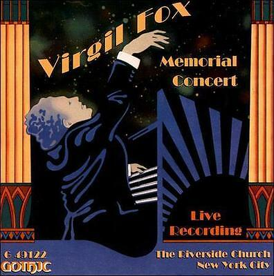FREE US SHIP. on ANY 3+ CDs! ~Used,Very Good CD : Virgil Fox Memorial Concert