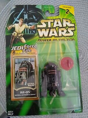 2000 Star Wars Power Of The Jedi  R2-5 Imperial Astromech Droid