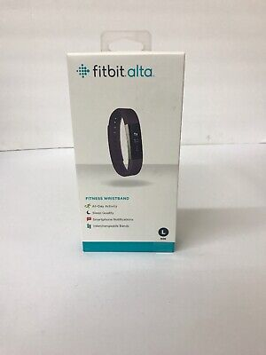 Fitbit Alta Fitness Wristband Activity Tracker Plum  Purple Large NEW SEALED
