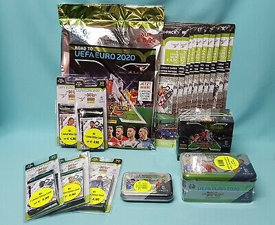 Panini Road to Euro 2020 Adrenalyn XL Display Blister Multipack Tin Box & Sets