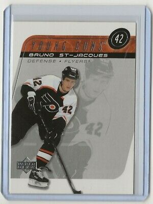 02-03 2002-03 Upper Deck #218 Bruno St. Jacques Young Guns Philadelphia Flyers
