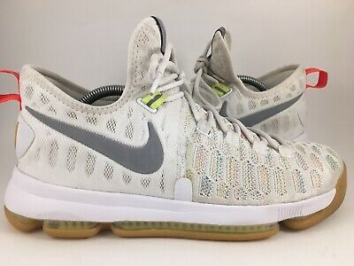 brand new 67395 c0e28 Nike Zoom KD 9 Multi-Color Metallic Silver 843392-900 Summer Pack Size