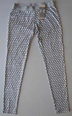 Girl's Youth Under Armour Heat Gear FITTED Leggings Pants Size XL