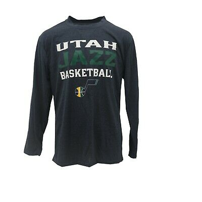 watch 1087c dfe4f UTAH JAZZ OFFICIAL NBA Apparel Kids Youth Size Long Sleeve Athletic Shirt  New