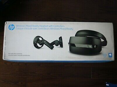 NEW HP WINDOWS Mixed Reality Headset with 2 Controllers - VR1000-100  2HJ34AA#ABA