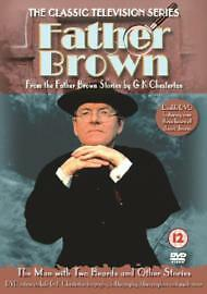 Father Brown The Man With Two Beards & Other Stories DVD 2003 2-Disc Set FREEP&P