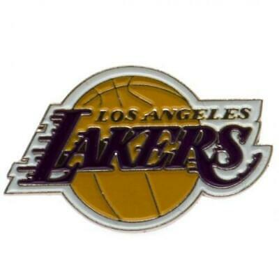 Los Angeles Lakers Logo Pin NBA Basketball Metall Wappen Abzeichen,Crest Badge Sport