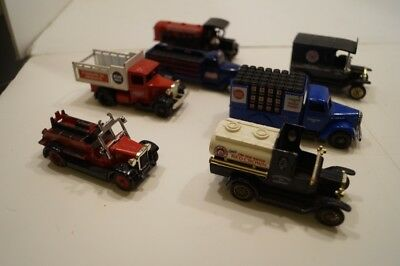 LOT OF 7 Lledo Diecast 1:64 Scale Trucks - Made in England