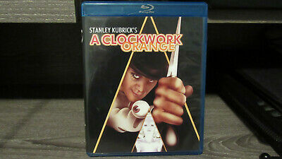 A Clockwork Orange Blu-ray Disc Great Condition Fast Shipping