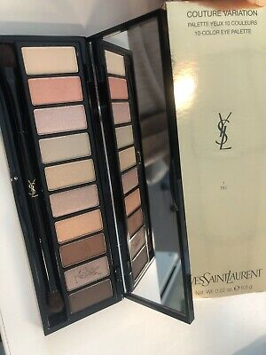 e458caa546b New Yves Saint Laurent Couture Variation 10 Color Eye Shadow Palette- 1-NU  $90