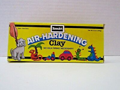1984 RoseArt Air-Hardening Clay Sealed 12ozs