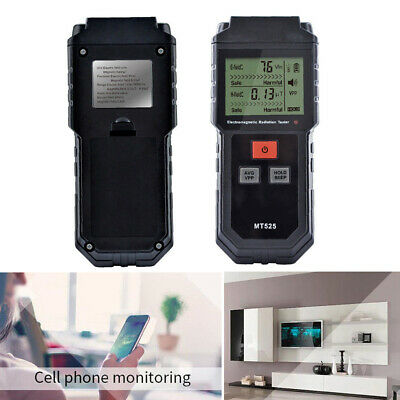 Double Electromagnetic Radiation Tester Measurement Locking Light Alarm MT525