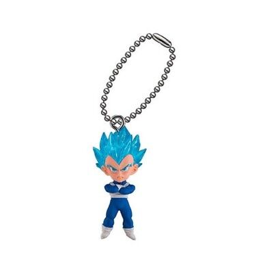 Dragon Ball Super UDM The Best 28 SSGSS Vegeta Keychain Figure DBZ BANDAI Japan