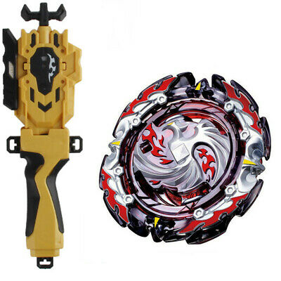 Beyblade BURST B-131 Dead Phoenix Super Z+Golden B-88 Launcher+B-123 GRIP TOY
