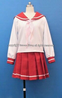 New!Lucky Star Cheerleading Uniform Costume Cosplay Cos3