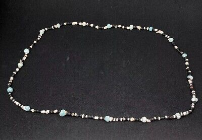Sumerian Steatite & Faience Bead Necklace Circa 3000 BC Certified Authentic