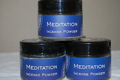 Meditation Traditional Incense Powder, Metaphysical 20 Grams Resin (1) Jar