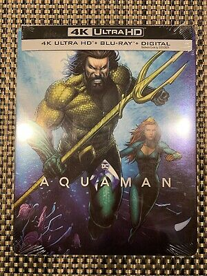 Aquaman 4k Ultra HD + Blu-ray Bestbuy Exclusive Steelbook