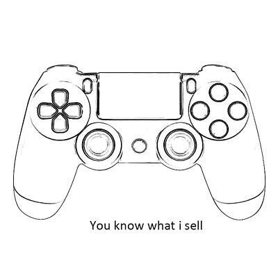 New Dualshock Joystick Gamepad Wireless Controller for Sony Playstation 4 PS4 V2