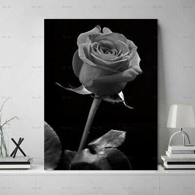 canvas painting Flower poster and print Wall art plant art Picture home decor