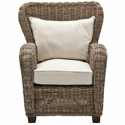 Beaumont Lane Wicker Chair in Natural