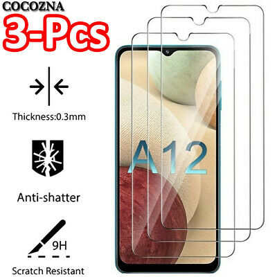 2Pcs Tempered Glass Screen Protector Film For Samsung Galaxy A10 A20 A30 A40 A50
