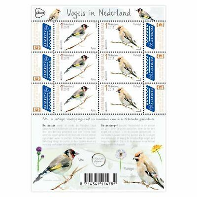 Nederland / The Netherlands - Postfris / MNH - Sheet Europe, National Birds 2019
